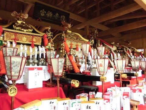 神戸山王祭 お神輿