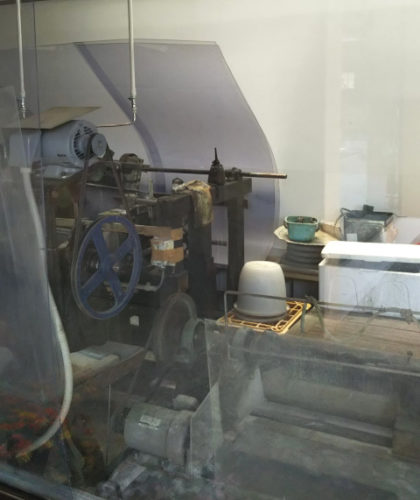 研磨の工程